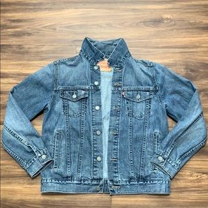Levi Jean Trucker Jacket Women's Medium